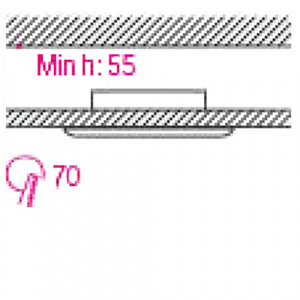 LEYLAK Matchrom Einbaustrahler Einbaurahmen HL797