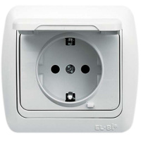 Socket Outlet With Protection Cover