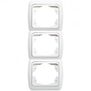 3 Gang Frame Vertical