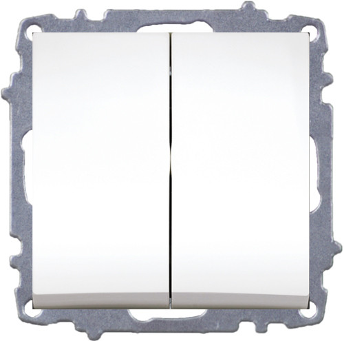 Double One Way Switch -Without Frame