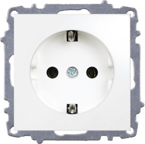 Socket Outlet Earthed-Without Frame