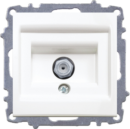 Satellite Socket Outlet (F-type female connector)