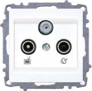TV+R+Satellite Socket Outlet-End of Line