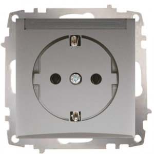Socket Outlet Earthed - With Protection Cover