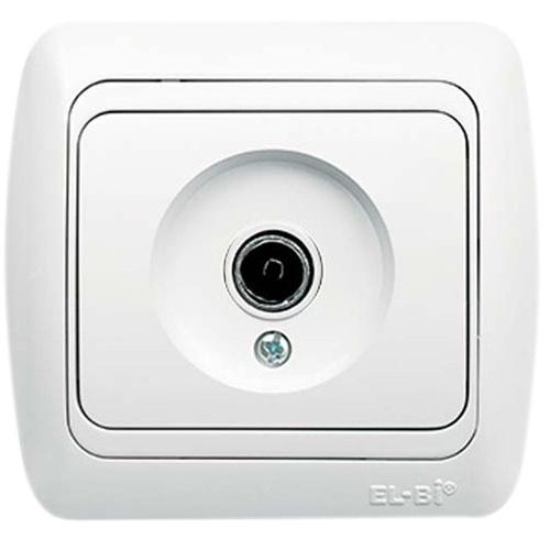 Shielded TV Socket Outlet Through Line (8dB - 12dB-18dB-20dB)