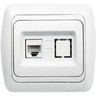 Data Socket Outlet (1 Piece-Cat6 Jack)
