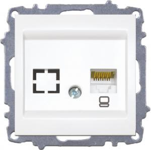Data Socket Outlet (Cat6) - Without Frame
