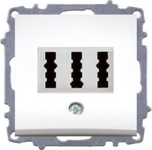 Double Numeris Tel.Socket Outlet