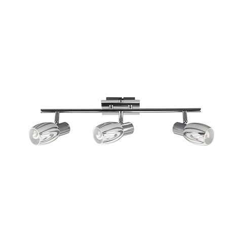 HL792N 3X9W CHROME E14 220-240V CEILING LAMP