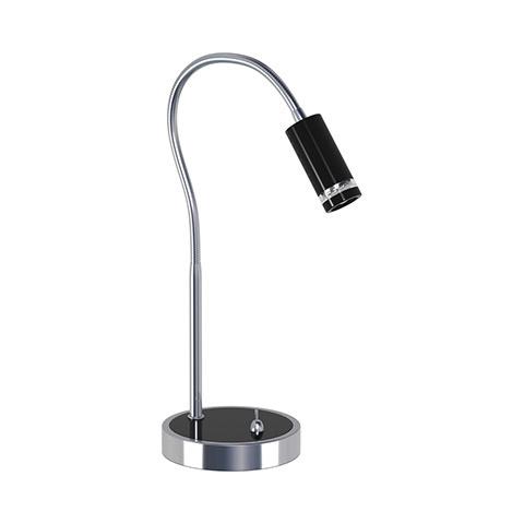 HL006L 3W BLACK 220-240V DESK LAMP