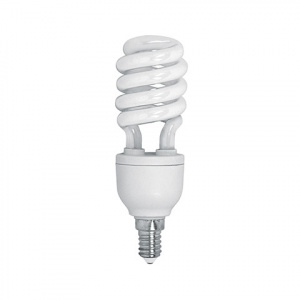 ENERGIESPARLAMPE Halb Spiral 15W 2700K Warmweiss E14 Mini...