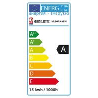 ENERGIESPARLAMPE Halb Spiral 15W 2700K Warmweiss E14 Mini - HL8615