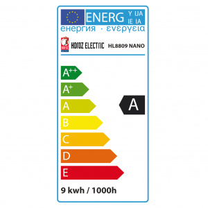ENERGIESPARLAMPE FULL SPIRAL 9W 6400K KALTWEISS G9 T2.2...