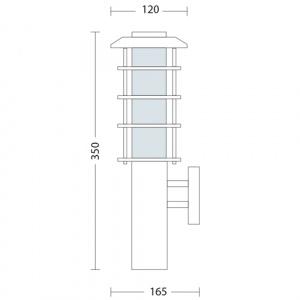 HL201 60W E27 220-240V GARDEN LAMP