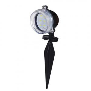 HL283L 3,5W Schwarz 6400K LED Gartenlampe Gartenleuchte