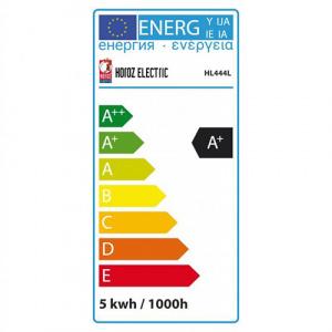 HL444L R63 4.8W 4000K E27 220-240V LED LAMP