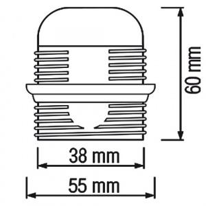 HL584 - E27 Fassung Lampenfassung Leuchtmittelhalterung