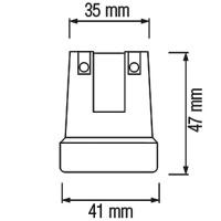 HL591 - E27 Fassung Lampenfassung Leuchtmittelhalterung