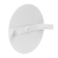 Federdeckel Klemmdeckel Deckel weiß für Schalterdosen