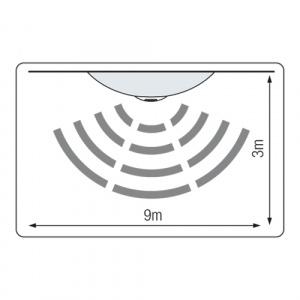 360° Sensor Deckenlampe mit Bewegungsmelder 2x 10W...
