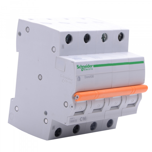 Domae Sicherungsautomat MCB 3kA 3P+N 16A C SCHNEIDER ELECTRIC