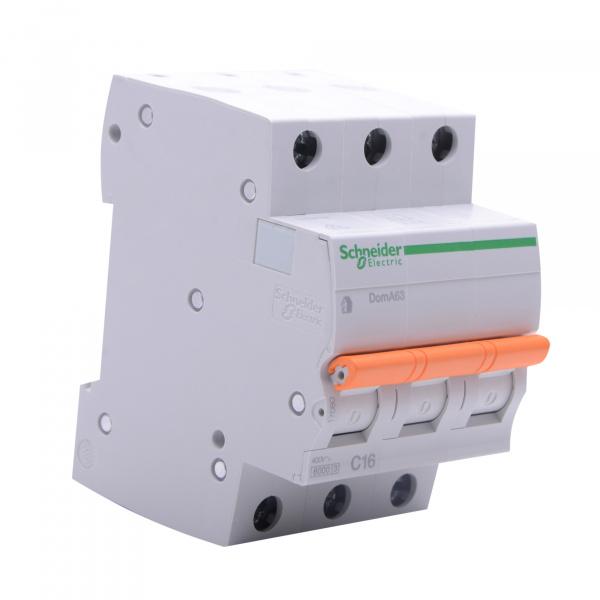 Domae Sicherungsautomat MCB 6kA 3P 16A C SCHNEIDER ELECTRIC