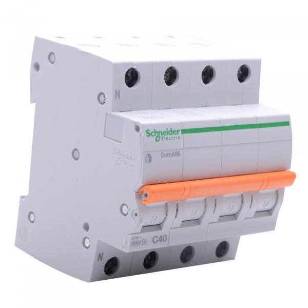 Domae Sicherungsautomat MCB 6kA 3P+N 40A C SCHNEIDER ELECTRIC
