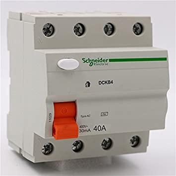 Domae Sicherungsautomat RCD 4P 30mA 40A SCHNEIDER ELECTRIC