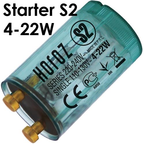 10er Pack S2 STARTER Für Leuchtstoffröhre Leuchtstofflampe Neonlampe Neonröhre