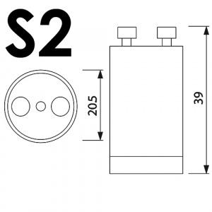 5er Pack S2 STARTER Für Leuchtstoffröhre...