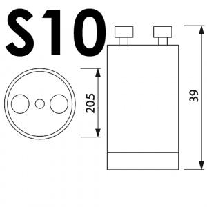 25er Pack S10 STARTER Für Leuchtstoffröhre...