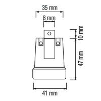 5 Stück HL592 - E27 Fassung Lampenfassung Leuchtmittelhalterung