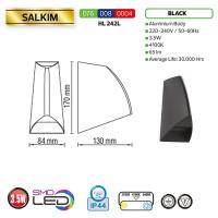 3,5W 4100K Schwarz LED Gartenlampe Außenleuchte - SALKIM