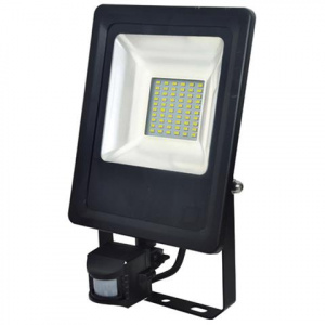 30W Schwarz 6400K LED Projektor Fluter Strahler m....
