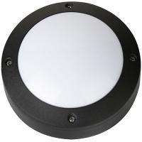 6W Schwarz 4000K LED Kellerleuchte Kellerlampe - RAMAN