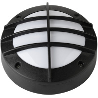 6W Schwarz 4000K LED Kellerleuchte Kellerlampe - ANT