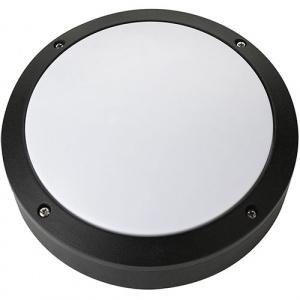 12W Schwarz 4000K LED Kellerleuchte Kellerlampe - NUR