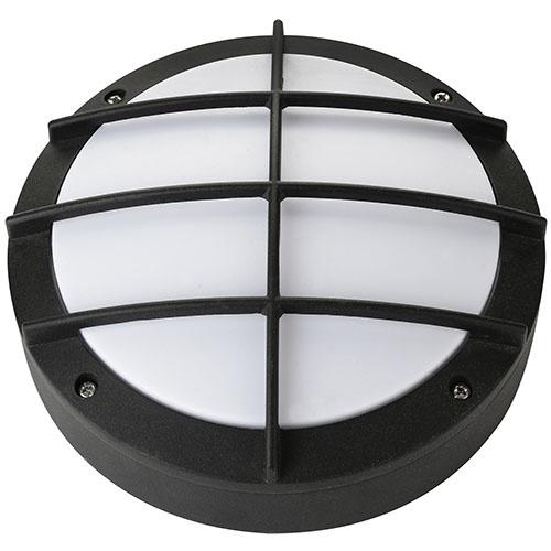 12W Schwarz 4000K LED Kellerleuchte Kellerlampe - ALTAY