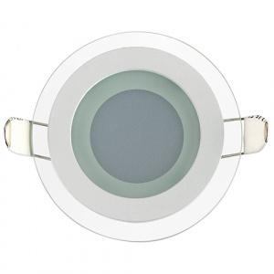 CLARA-6 6W Glas Design LED Panel Einbaustrahler...