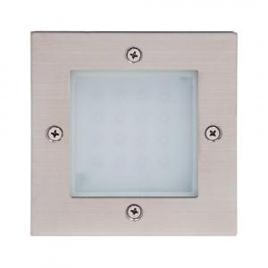 1.6W Weiss LED Wand Einbau Leuchte IP54 - MERCAN