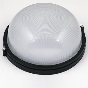ZIGANA Feuchtraumleuchte Kellerlampe Kellerleuchte Rundleuchte Schwarz E27