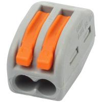 CONNECTOR-2 2Polige Verbindungsklemme Hebel Verbinder Kabel Klemme