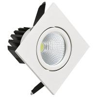 3W Weiss 2700K COB LED Einbaustrahler Einbauleuchte Schwenkbar - DIANA