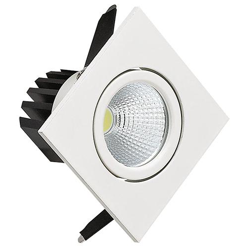3W Weiss 6500K COB LED Einbaustrahler Einbauleuchte Schwenkbar - DIANA