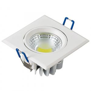 3W 2700K Weiss COB LED Einbauspot Einbaustrahler -...