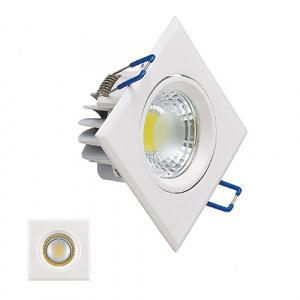 3W 6400K Weiss COB LED Einbauspot Einbaustrahler -...