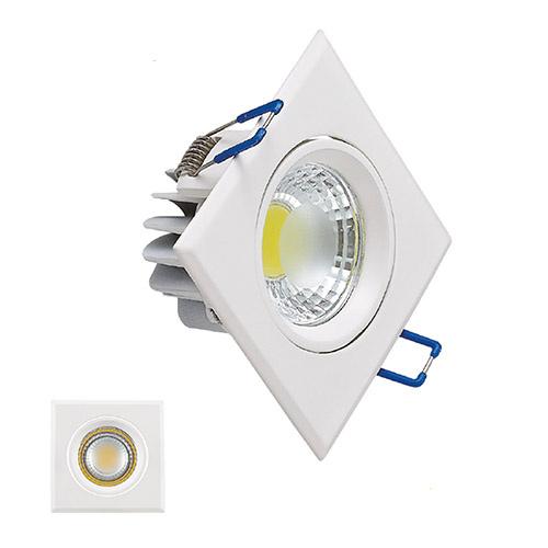 5W 2700K Weiss COB LED Einbauspot Einbaustrahler - VICTORIA-5