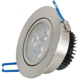 3X1W 6400K Matchrome LED Einbauspot Einbauleuchte - VERA-3