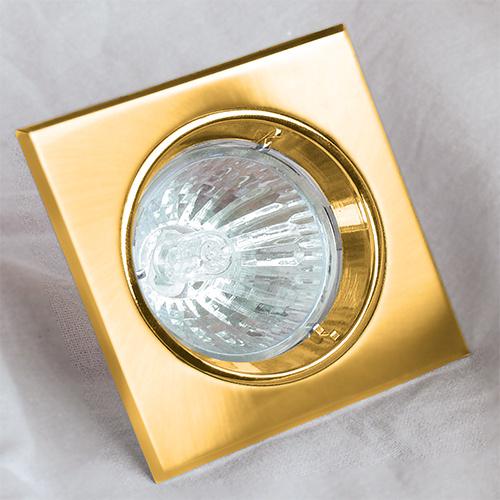 ORTANCA Goldfarbig GU5.3 Einbaustrahler Einbaurahmen