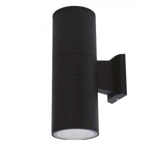 Schwarz Gartenlampe Gartenleuchte Wandleuchte E27 -...